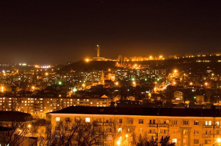 Вид на Соколовую гору