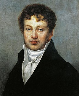 Портрет Андре-Мари Ампера, начало XIX века