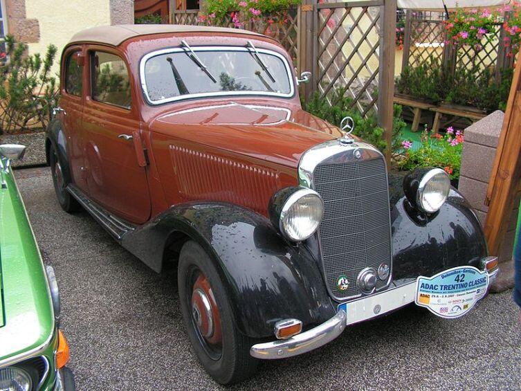Mercedes-Benz 170 V 1939 г.