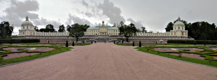Северный фасад Большого Меншиковского дворца
