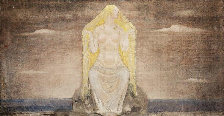 Богиня Фрейя в представлении Йона Бауэра