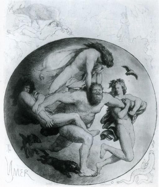 Лоренц Фрёлих, «Убийство Имира»