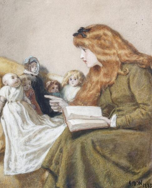 John Dawson Watson, «Сказки на ночь или молодая учительница», 1885 г.