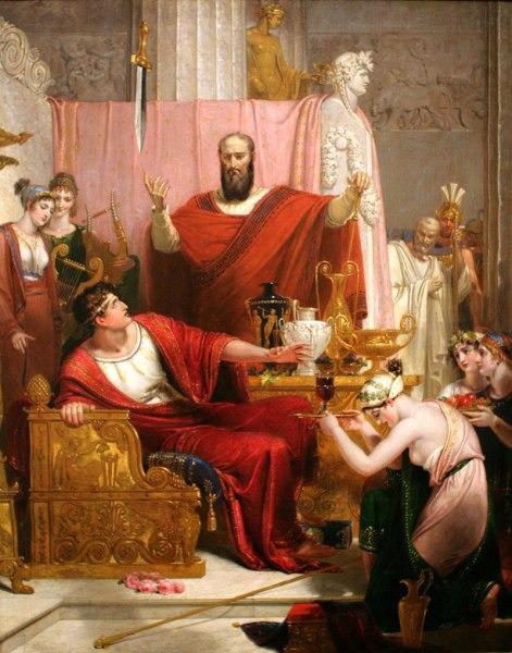 Ричард Уэстолл, «Дамоклов меч»