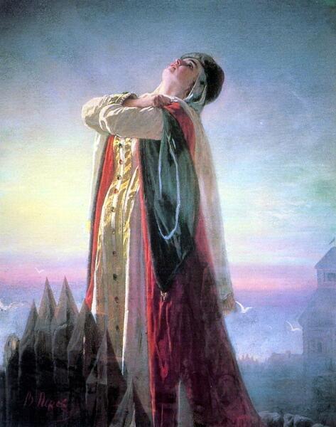 В. Г. Перов, «Плач Ярославны», 1881 г.