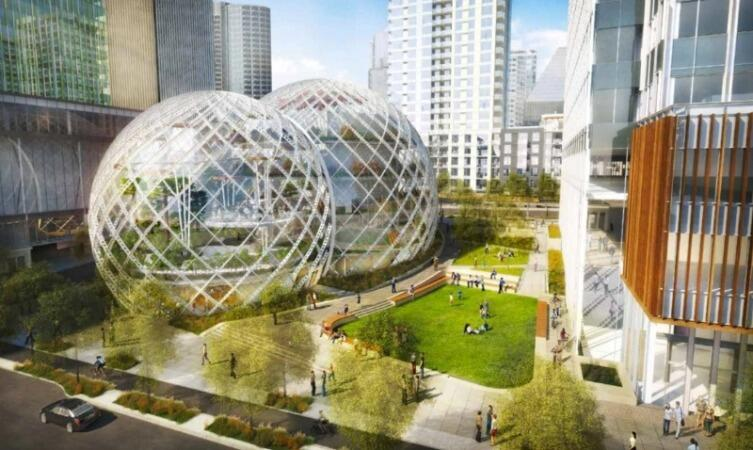 Офис компании Amazon в Сиэтле