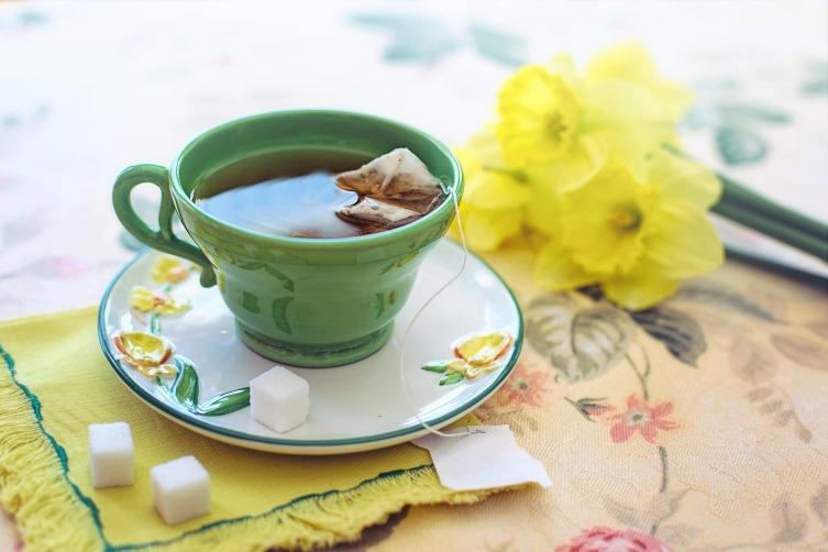 Зеленый чай повышает тонус и активность, притупляет чувство голода