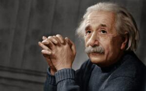 Как ни морщи репу, а все равно до Эйнштейна немного не дотягиваем...