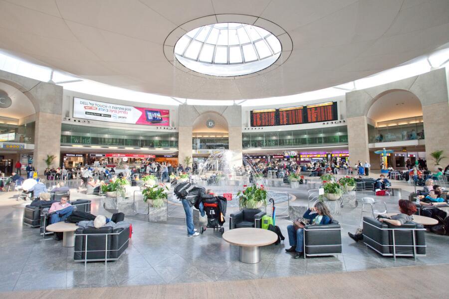 Аэропорт им. Бен-Гуриона в Тель-Авиве
