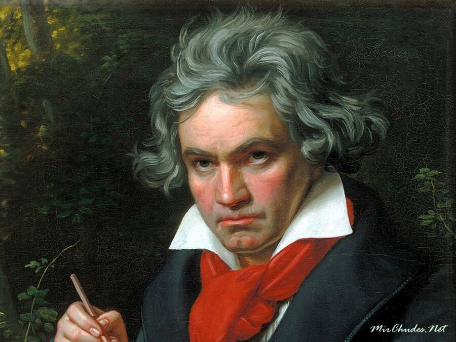 Фрагмент портрета работы Карла Штилера, 1820 г.