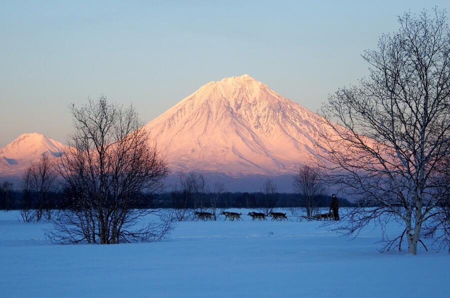 Вулкан Корякский, Камчатка