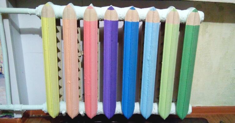 Какой краской красить трубы отопления в квартире?