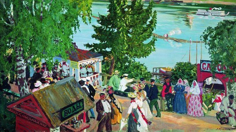 «Гулянье на Волге», 1909 г.