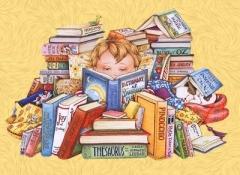 Учиться дома - здорово: не нужно таскать тяжёлый ранец!