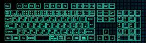 Вот такую клавиатуру используют японцы