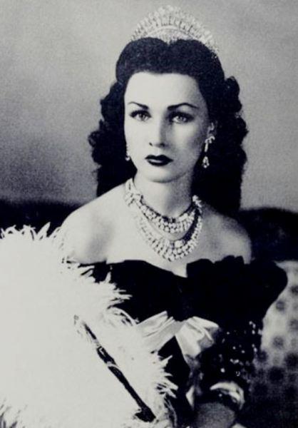 Первая супруга Фавзия Фуад, принцесса Египта