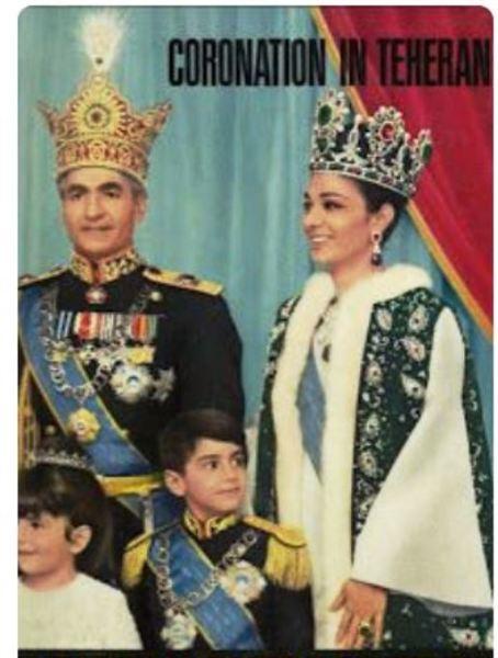 Книга «Coronation in Teheran»