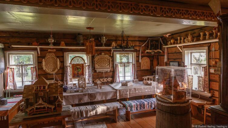 Сомино, музей русской резьбы