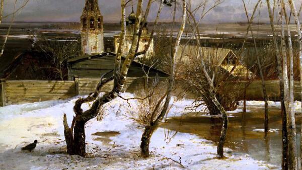 Сколько раз Алексей Саврасов переписывал «Грачей»?