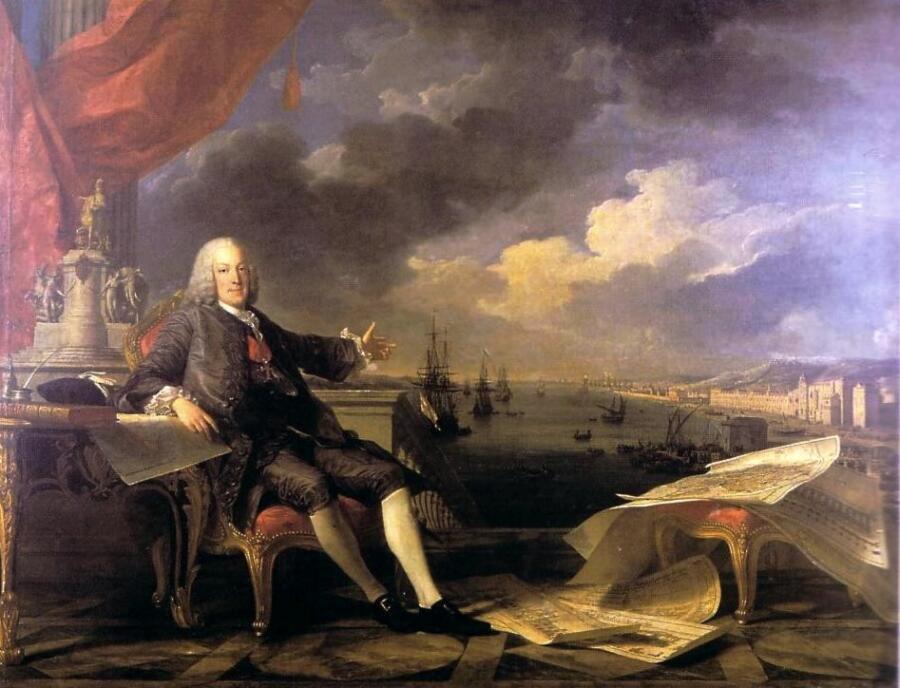 Луи-Мишель ван Лоо, «Себастьян Жозе ди Карвалью-и-Мелу, маркиз ди Помбал, граф ди Оэйраш», 1766 г.