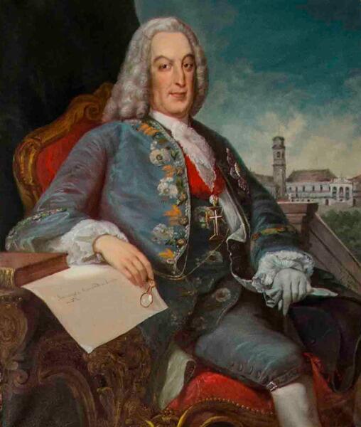 Портрет маркиза Помбала