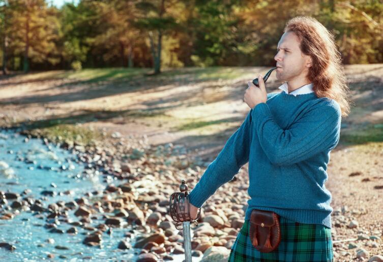 Шотландские мужья - рыжие