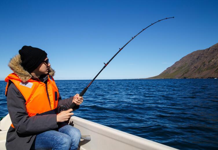 Исландский муж - знатный рыбак
