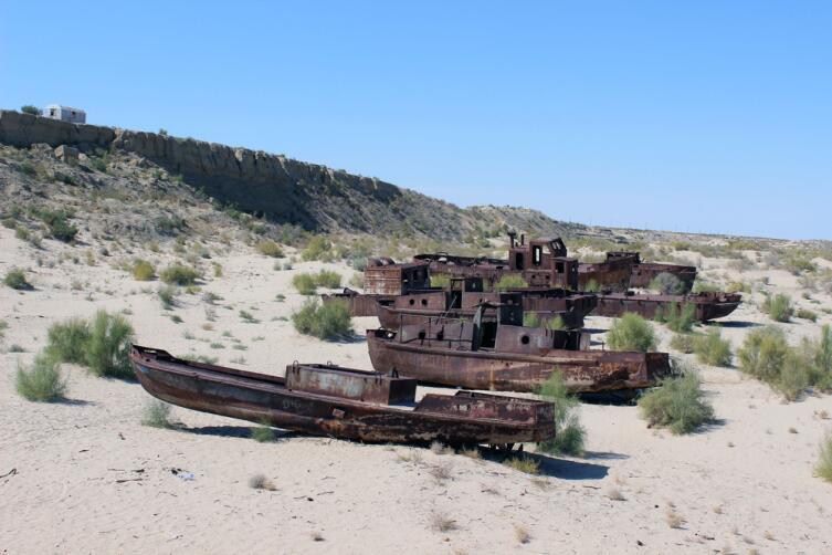 Корабли в Муйнаке