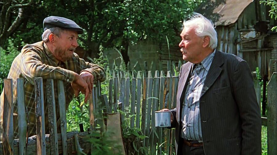 Кадр из к/ф «Белые росы», реж. И. Добролюбов, 1983 г.