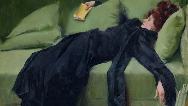 Рамон Касас, «Юная декадентка», 1899 г.