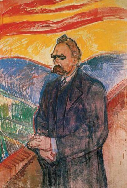 Эдвард Мунк, «Портрет Фридриха Ницше», 1906 г.