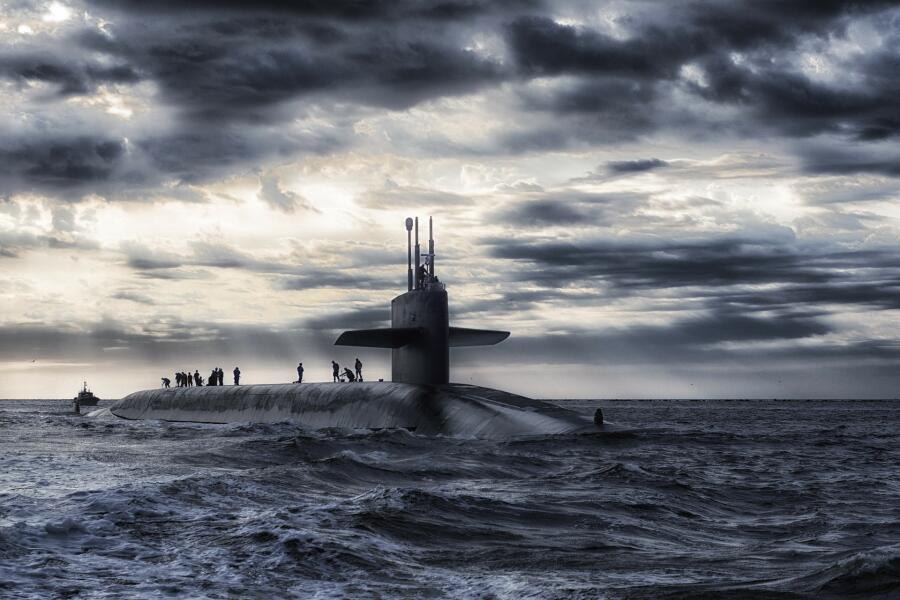 Современная подводная лодка