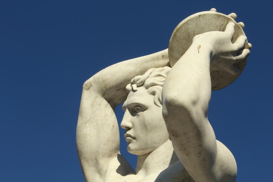 Статуя «Метатель диска»