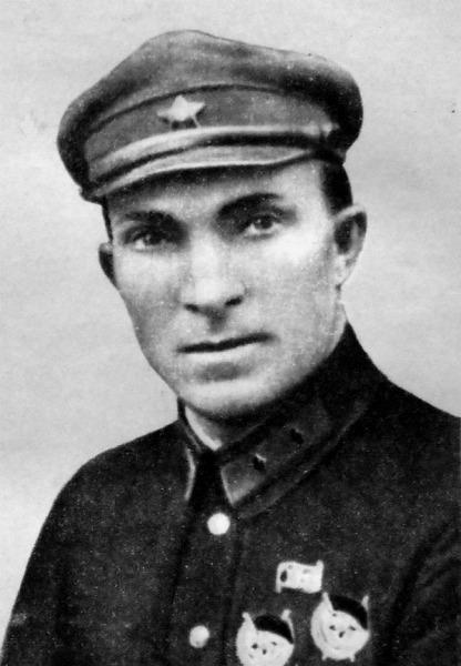 Командир 23-й с. д. М. Ф. Лукин, 1929 год