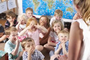 В первый раз в первый класс…  Куда?