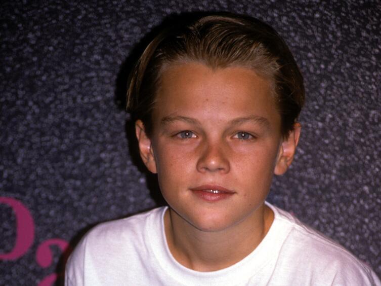 Леонардо в роли юного Мейсона из сериала