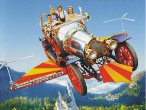 Легендарный автомобиль Chitty Chitty Bang Bang - игрушка