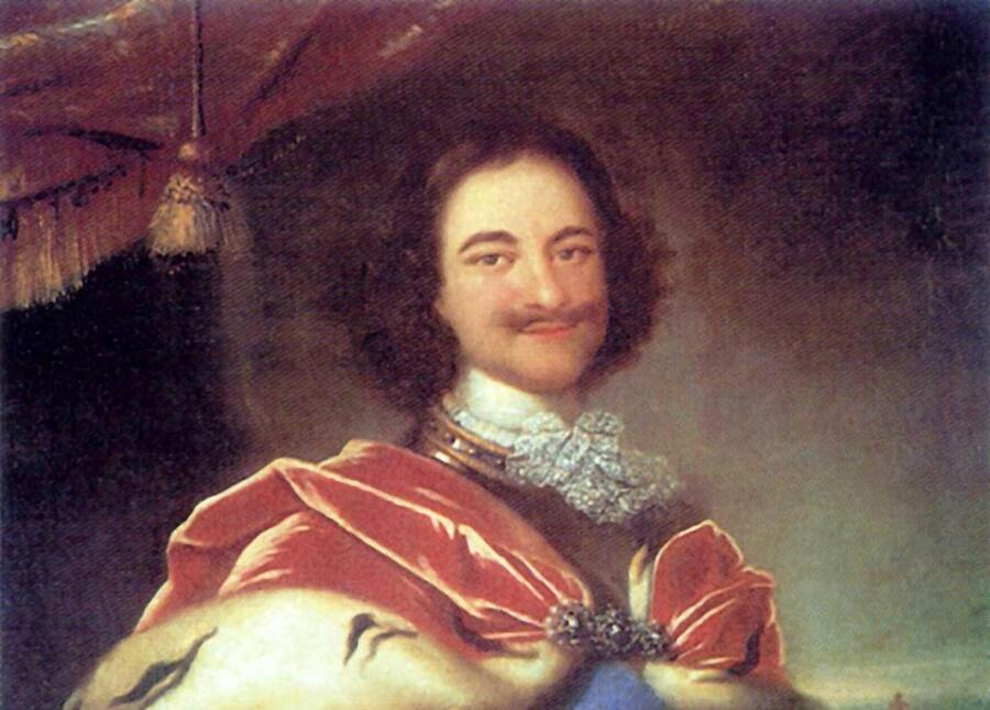 Иван Никитин, «Портрет Петра I»<br /> 1717 г.