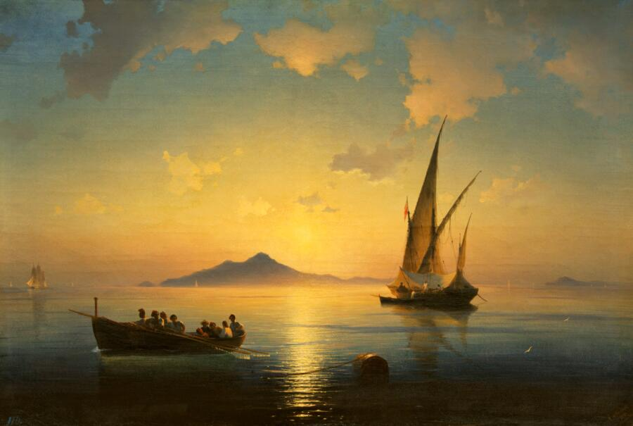Иван Константинович Айвазовский, «Неаполитанский залив», 1841 г.