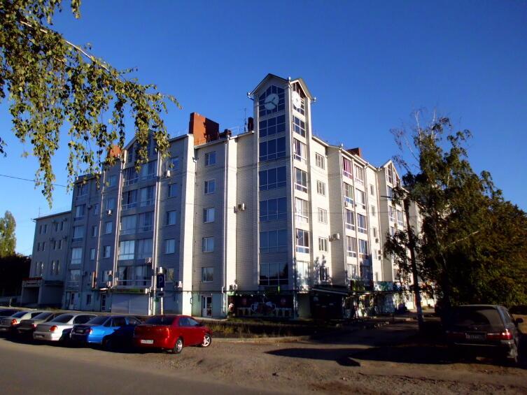 В центре города Семилуки