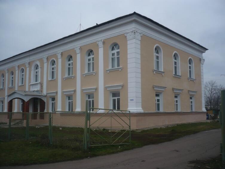 Здание райкома КПСС