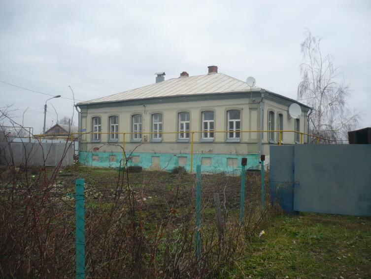 Старый жилой фонд Землянска
