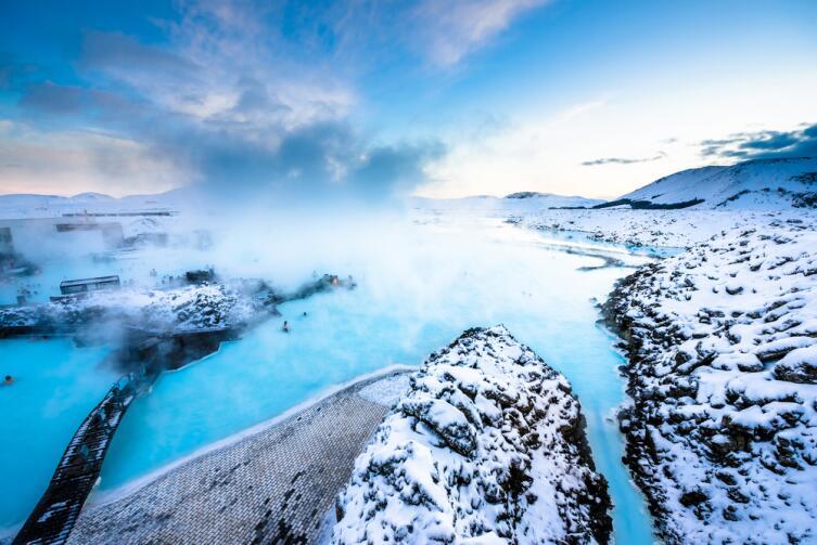 В Исландии всегда ветер