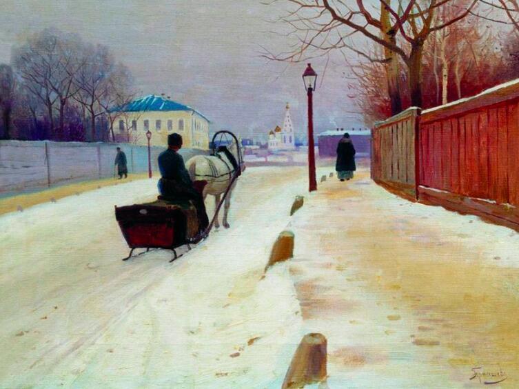 «Извозчик», М. Гермашев, 1890 г.