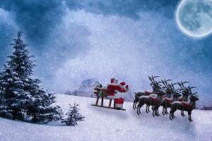 В канун Рождества создаётся ощущение, что эта песня просто зависает над планетой...