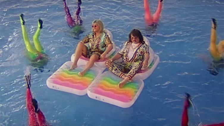 Кадр из видеоклипа «Ибица»