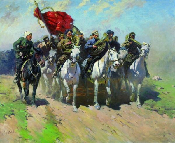 Почему Митрофана Грекова считают художественным летописцем красной конницы?