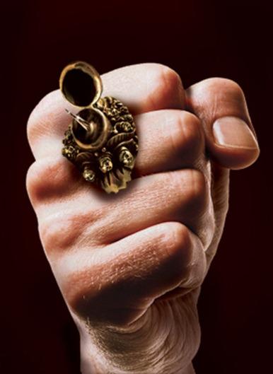 Реплика античного перстня с шипом