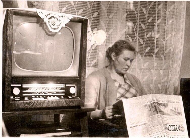 Советский телевизор «Беларусь»