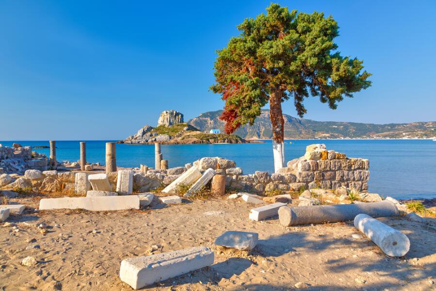 Древние руины в Греции